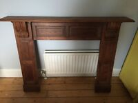 Large Oak Fireplace - Needs to go ASAP!