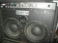 Fender rumble bass combo