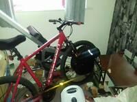 Bike and rower