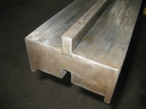 "Press Brake Riser Block With 1/2"" Tang 96-1/2"" Long x 4-7/8"" Wide x 4-1/4"" Wide"