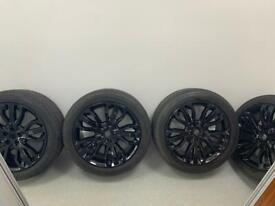 "Range Rover sport dynamic 21""genuine wheels santorini black"