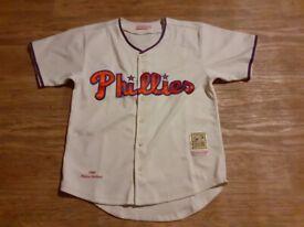 Richie ashburn phillies baseball Jersey