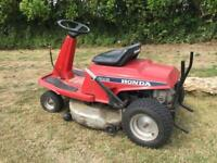 Lawnmower ride on mower sit on grass cutter Honda