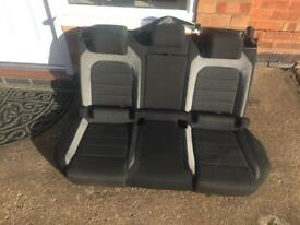 Golf R rear seats