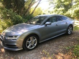 Audi A7 3.0 TDI 2016 S line Sportback S Tronic Quattro 5dr PX PX PX Welcome