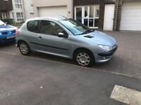 Peugeot 206 Silver