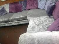 Silver velvet suite
