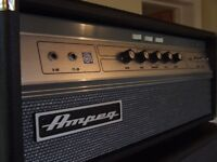 Ampeg V-4B Bass Amp Head tube amp amplifier (With Box)