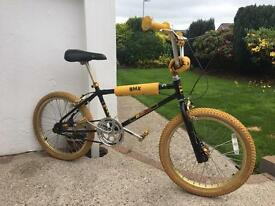 Old school bmx, retro, 80s bmx.