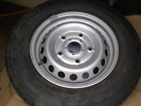 brand new wheel tyre from transit 235 65 16