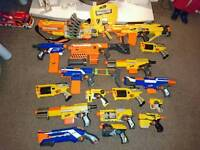 Nerf gun assortment job lot