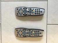 SKY TV REMOTES FOR SALE