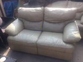 3 & 2 seater recliner £80