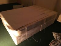 2 week old double divan bed, cheap for fast sale