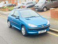 Peugeot 206 1.4, Long MOT, Full Service History,Only 1 Former Keeper, Super Low Mileage,Reliable Car