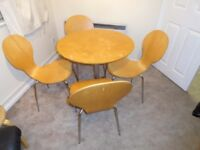 DINNING TABLE AND & CHAIRS.......FREE..THATS RIGHT FREE...