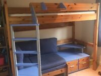 Ex Barker and Stonehouse Single Stompa bed in superb condition.