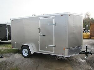 2016 Interstate 6x12 V-NOSE CARGO TRAILER SFC6X12SAFS