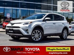 2016 Toyota RAV4 LIMITED Pkg - NAVIGATION LEATHER MOONROOF 1 OWN