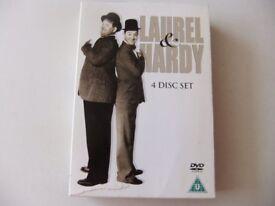 Laurel & hardy 4 disc box set