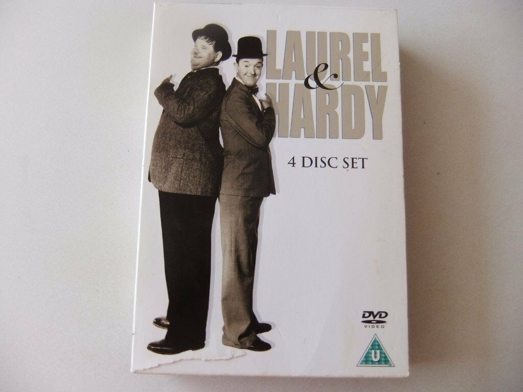 Laurel & hardy 4 disc box set | in Temple Meads, Bristol | Gumtree