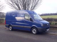 VW CRAFTER mwb blue 2014 (64 plate) no VAT!!!!!!!!!!!! VERY LOW MILEAGE