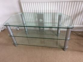 "TV Stand John Lewis GP1140 for TVs up to 55"", Clear, very good conditions"
