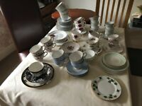 Assorted Tea cups/saucers/side plates over 100+ some matching sets