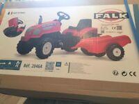 Brand new trailer & tractor