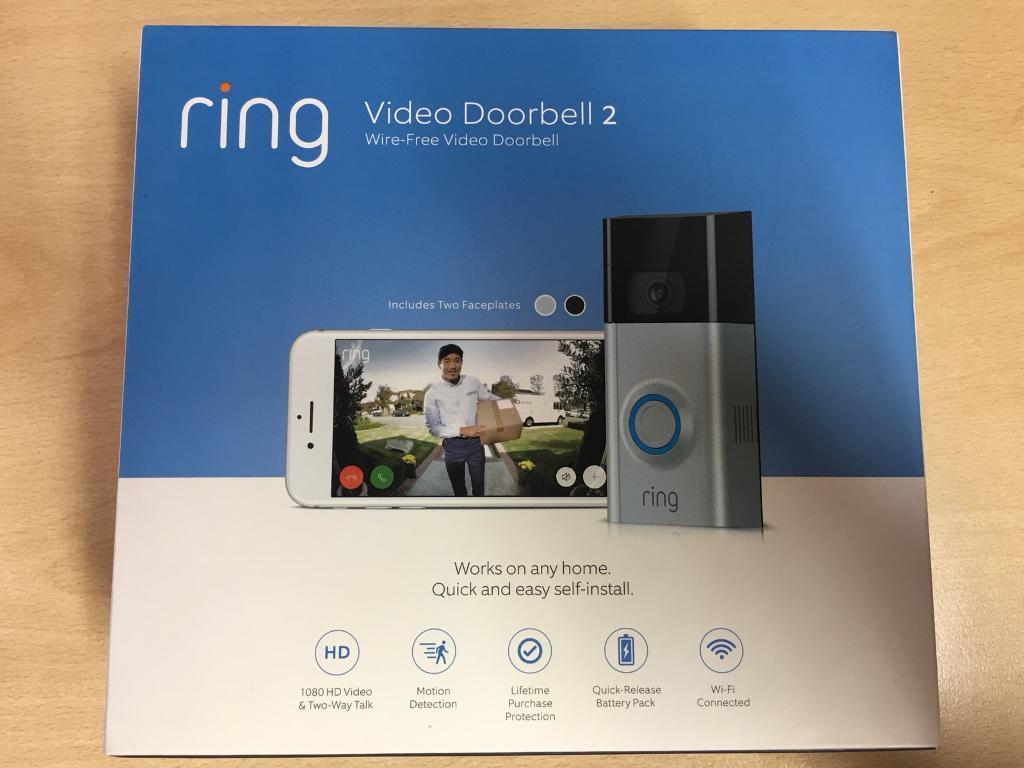 Brand New Ring Video Doorbell 2   in Derby, Derbyshire   Gumtree