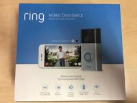 Brand New Ring Video Doorbell 2