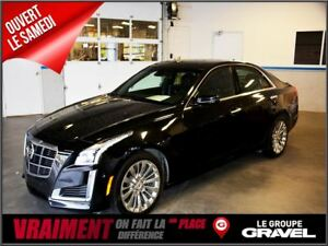 2014 Cadillac CTS 3.6L Premium AWD GPS TOIT PANORAMIQUE