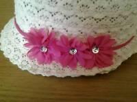 NEW - Girls Summer Hat