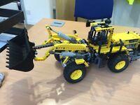 Lego Technic 8265 front loader