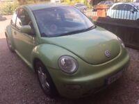 2.0 VW Beetle 2002 - Spares or Repairs No MOT