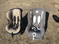 2 X Britax Car Seats (Group 0/1)