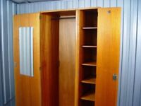 Vintage Stag Wardrobe Mid Century Furniture