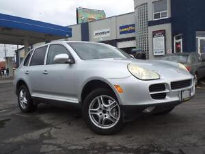 2004 PORSCHE CAYENNE S PREMIUM PACK, NO ACCIDENTS.