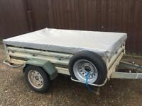 "7ft x 4ft 2"" Daxara 218 Tipping Trailer (both ends drop)"