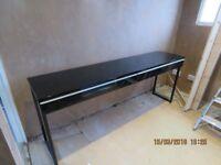 ikea desk / console table