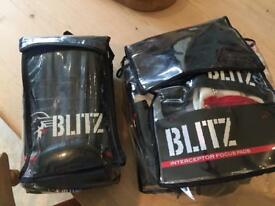 Blitz sport boxing gloves and sparring pads XL