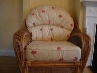 5 Piece Conservatory Cane Furniture