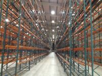 job lot 80 bays of dexion pallet racking AS NEW( storage , shelving )