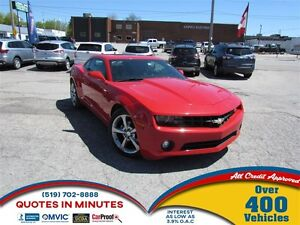 2013 Chevrolet Camaro RS PACKAGE   SUNROOF   LEATHER   SUMMER RE