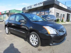 2012 Nissan Sentra Mag Wheels, Manual, Sunroof, Heated Seats, Bl