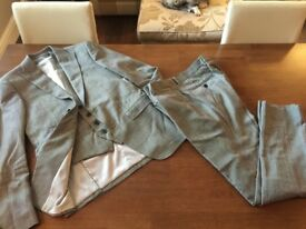 Moss bros skinny fit dog tooth check suit