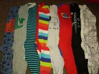 8 Next babygrows, Upto 1 month, great condition!