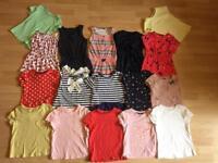 Girls summer clothing bundle age 4-5