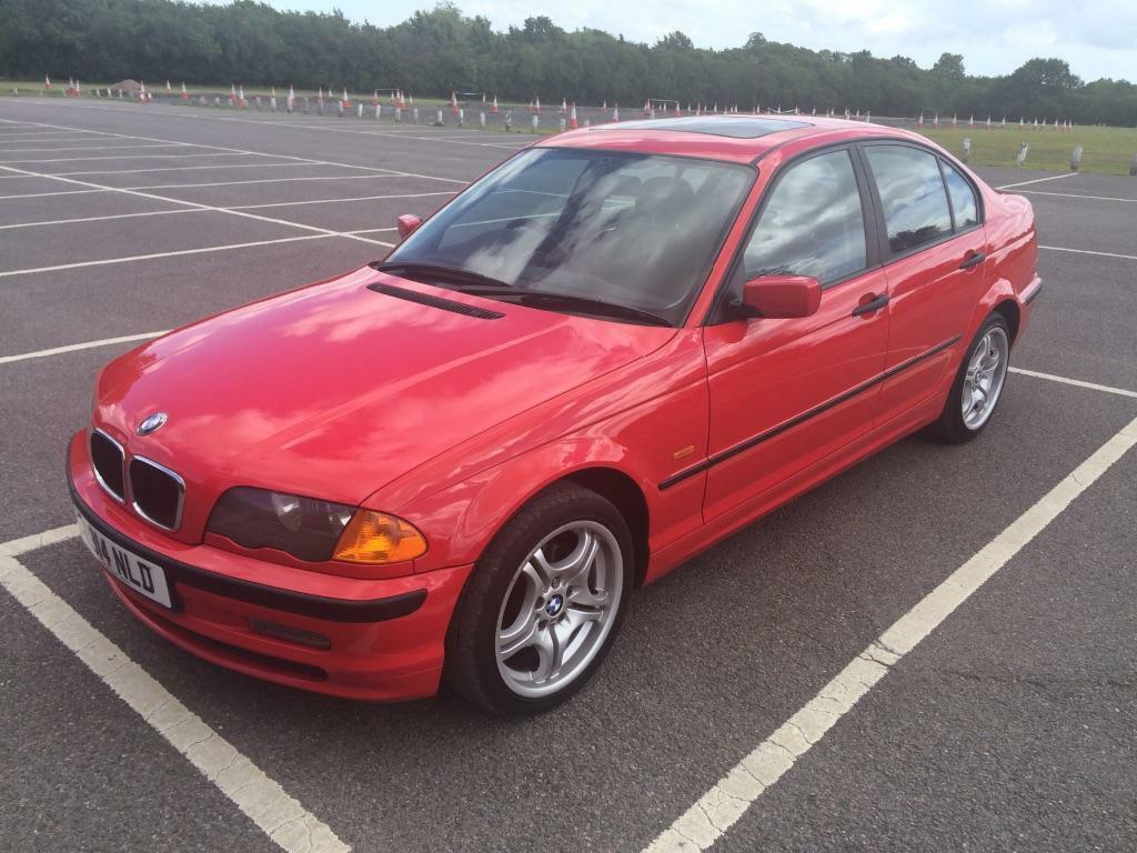 bmw e46 318i t 99 hellrot red mot 10 11 15 in southampton hampshire gumtree. Black Bedroom Furniture Sets. Home Design Ideas