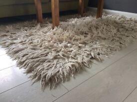 Rug fluffy shaggy style carpet 180 x 120 cm